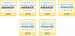 Wedding Wire Accolades